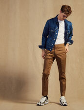 Fitted Chinos : Sélection Last Chance color Taupe