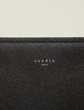 Saffiano Leather Briefcase : All Accessories color Black