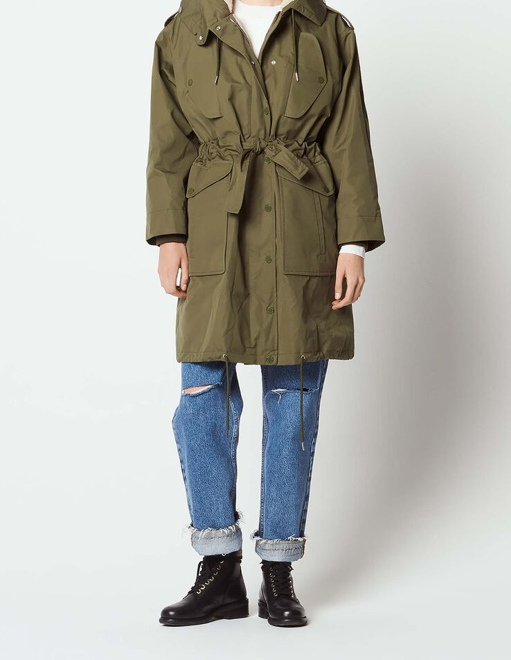 new arrivals 64122 0f10d Long parka