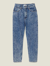 Snow Wash Jeans : New In color Blue Jean