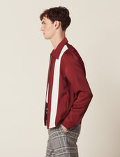 Flowing Zipped Jacket : Sélection Last Chance color Bordeaux