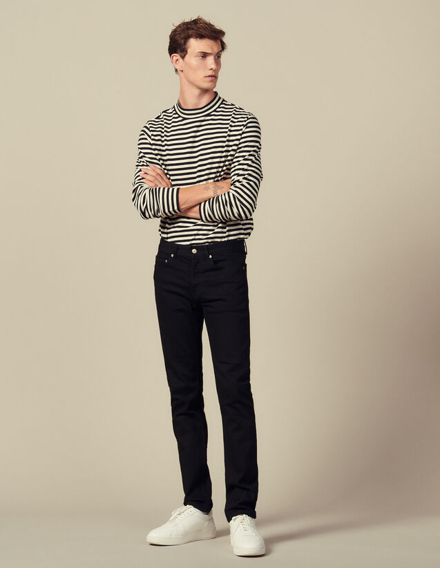 Slim-fit jeans : Jeans color Black