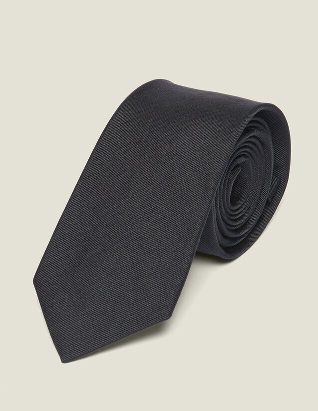 Classic Silk Twill Tie : Ties & Bow Ties color Navy Blue