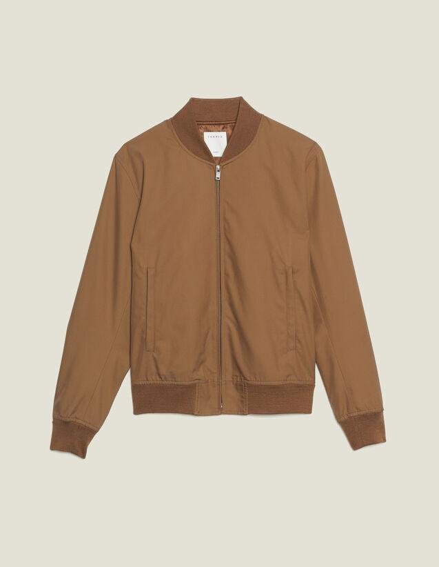 Cotton Teddy-Style Jacket : Sélection Last Chance color Navy Blue