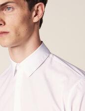 Cotton Shirt : Shirts color white