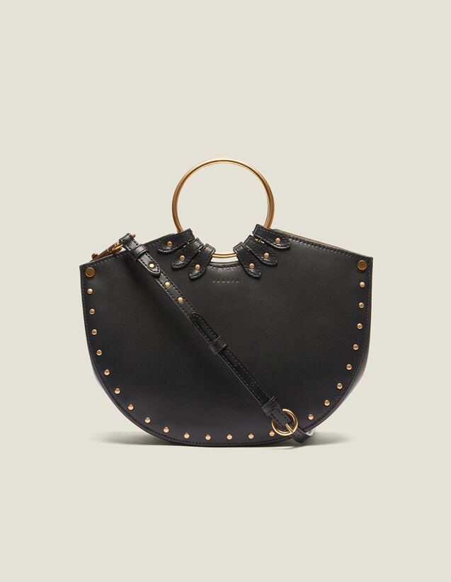 Ring Bag For Carrying Two Ways : All Bags color Black