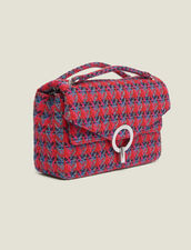 Yza tweed bag : Best of the season color Red