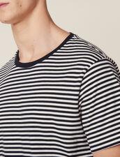 Breton T-Shirt : Sélection Last Chance color Navy/White