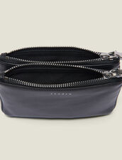 Mini Addict Pouch With Wrist Strap : null color Black