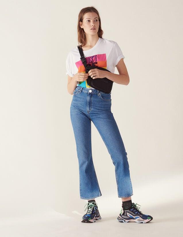 Flared Jeans : LastChance-FR-FSelection color Blue Vintage - Denim