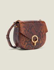 Pépita Bag : All Winter collection color PYTHON CAMEL
