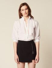 Trompe L'Œil Shorts : null color Black