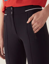 Leggings-Style Trousers : null color Black
