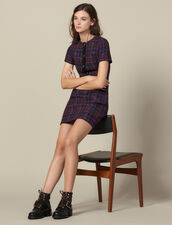 Short tweed dress : LastChance-ES-F40 color Multi-Color