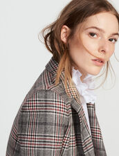 Double-breasted wool-blend jacket : FAnciennesCollections color