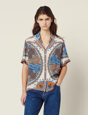 Printed Pyjama Shirt : null color Multi-Color