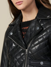 Quilted Leather Jacket : FBlackFriday-FR-FSelection-30 color Black