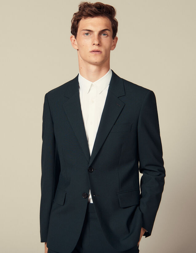 Suit Jacket : Winter Collection color Dark green
