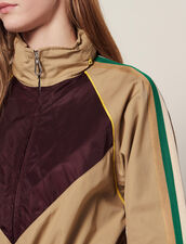 Windbreaker Coat : null color Beige