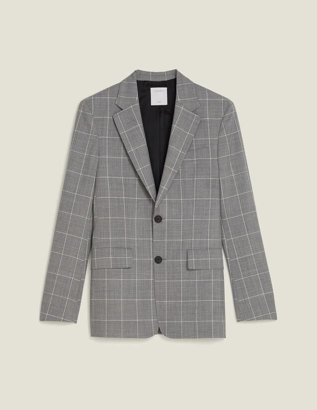 Classic Super 120 Suit Jacket : Suits & Tuxedos color Light Grey