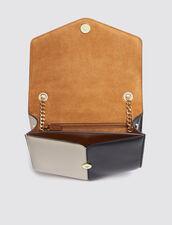 Lou Bag Medium Model : null color Noisette/Noir/Ecru