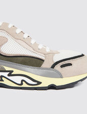 Flame trainers : All Shoes color Olive Green