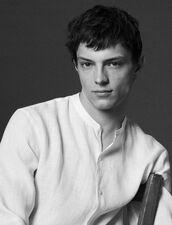 Linen Shirt With Mandarin Collar : Sélection Last Chance color Ecru