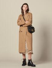 Long Double Faced Wool Coat : LastChance-ES-F30 color Beige