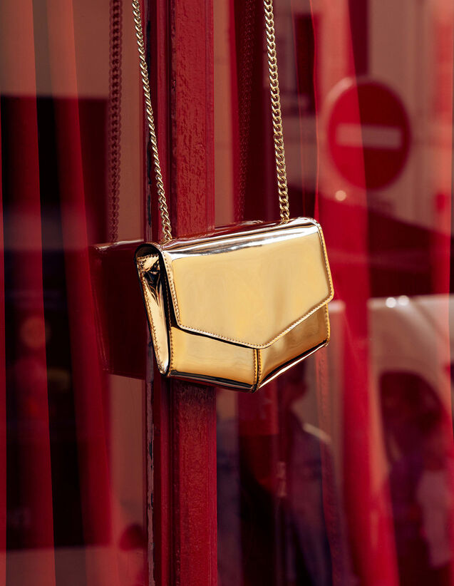 Lou Bag, Small Model : Summer Collection color Gold