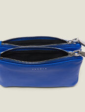 Mini Addict Pouch With Wrist Strap : null color Royal Blue