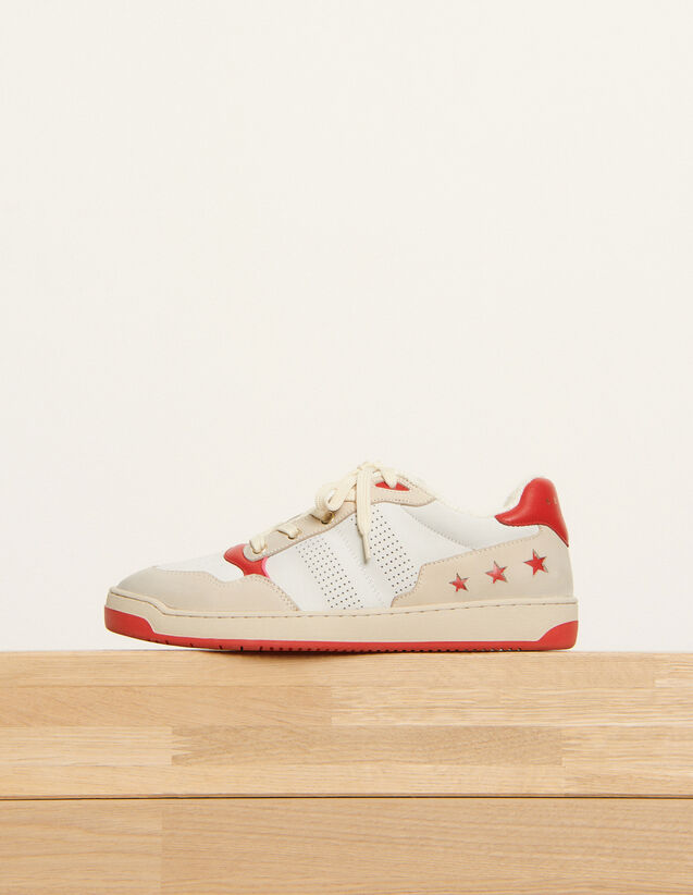 Retro style trainers : All Shoes color Red
