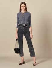 Leather Belt With Intricate Buckle : Best of the season color Black