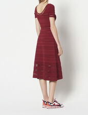 Mid-Length Knit Dress : All Selection color Rouge Cuit