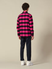 Checked Cotton Shirt : Winter Collection color Pink