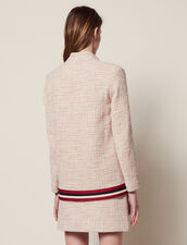 Tweed Cardigan-Jacket : null color Pink