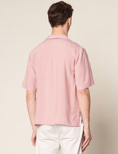 Flowing Short-Sleeved Shirt : Sélection Last Chance color Light pink
