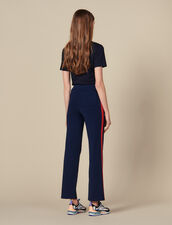 Knit jogging bottoms : FBlackFriday-FR-FSelection-30 color Navy Blue