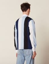 Shirt With Multicoloured Stripes : SOLDES-CH-HSelection-PAP&ACCESS-2DEM color Blue