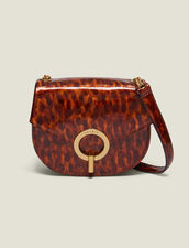 Pépita Patent Leather Bag, Small Model : Copy of VP-FR-FSelection-Sacs color Orange leopard