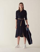 Long Shirt Dress : LastChance-FR-FSelection color Navy Blue