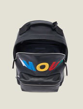 Amour Backpack : All Leather Goods color Black