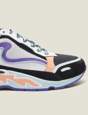 Flame Trainers : New In color Blue sky