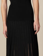 Long, Figure-Hugging Knit Dress : FBlackFriday-FR-FSelection-30 color Black