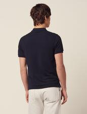 Cotton Piqué Polo Shirt : SOLDES-CH-HSelection-PAP&ACCESS-2DEM color white