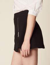 Trompe L'Œil Shorts : null color Black