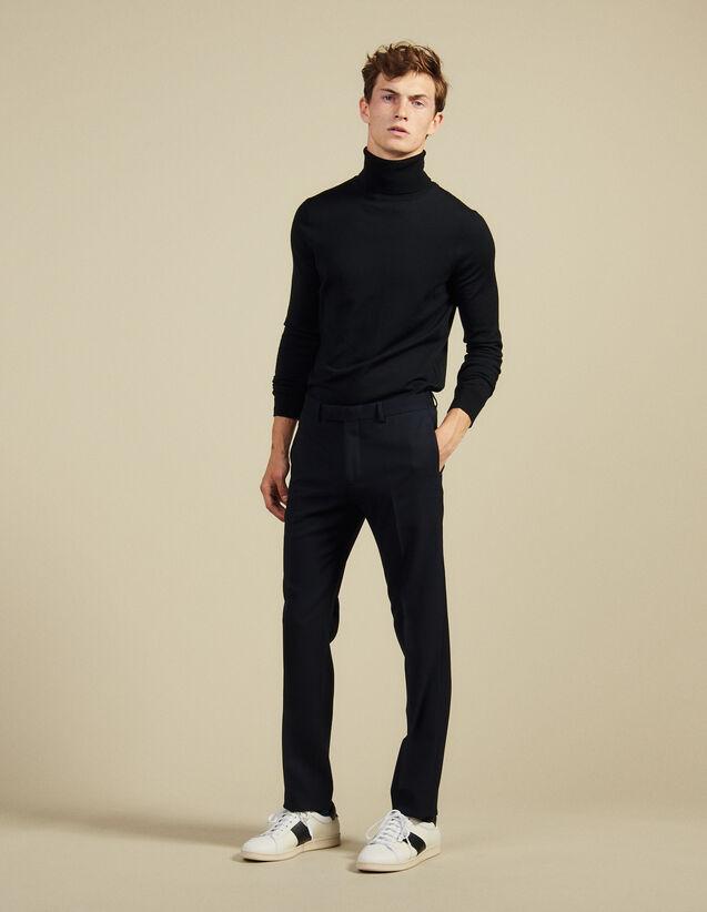 Suit Trousers : Suits & Tuxedos color Navy Blue