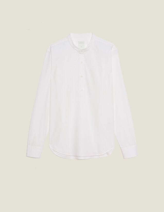 Poplin Tunic : All selection color white