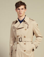 Belted Trench Coat : Icons color Beige