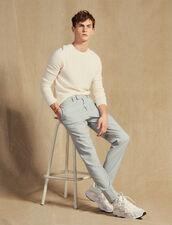 Wool Suit Trousers : Sélection Last Chance color Putty