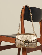 Full gold Yza bag, small model : All Winter collection color Full Gold